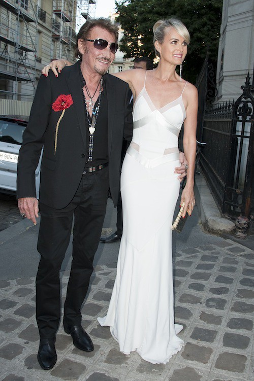 Photos : Fashion Week : Laeticia et Johnny Hallyday, heureux en amoureux à Paris !