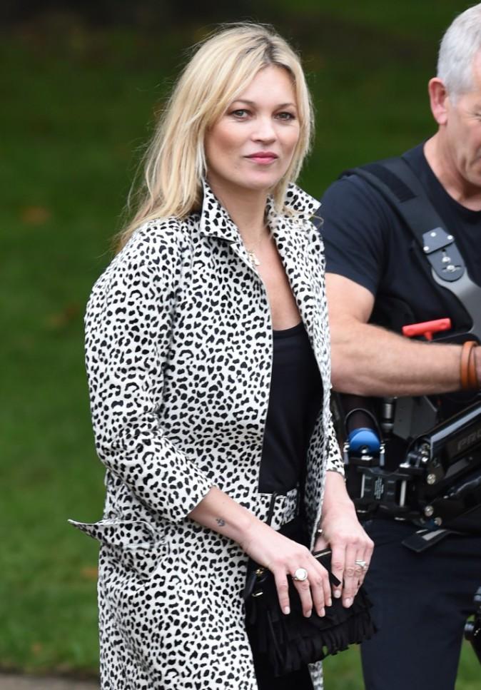 Kate Moss le 21 septembre 2015