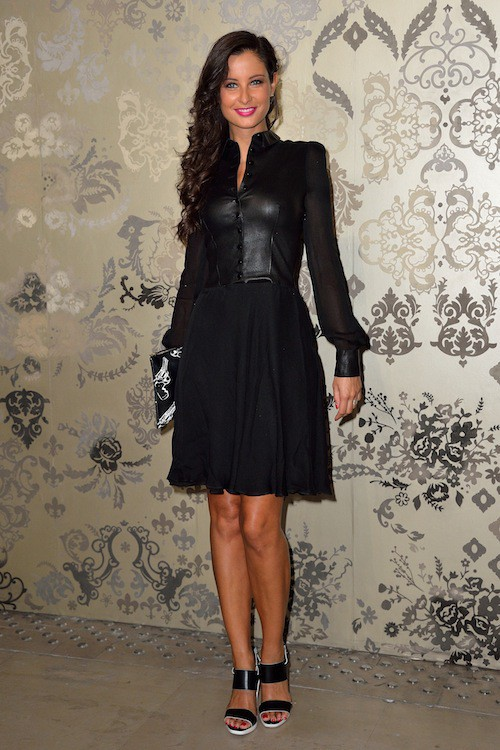 Malika Ménard au défilé Haute Couture automne-hiver 2015-2016 Zuhair Murad, à Paris le 9 juillet 2015 !