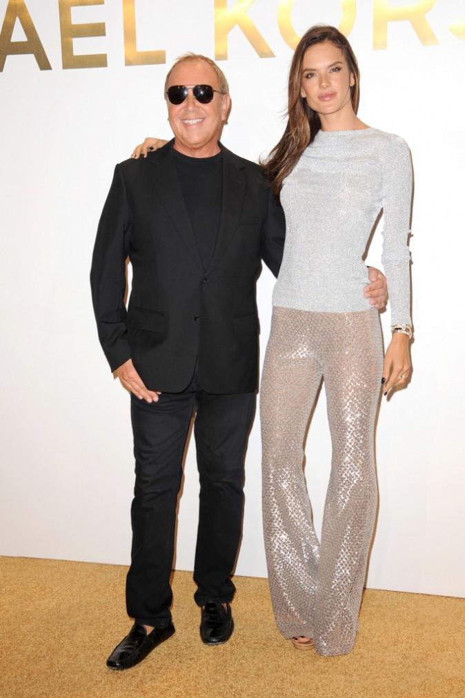 Alessandra Ambrosio et Michael Kors le 13 septembre 2015