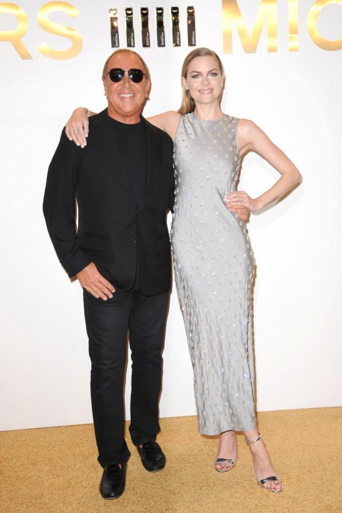 Jaime King et Michael Kors le 13 septembre 2015