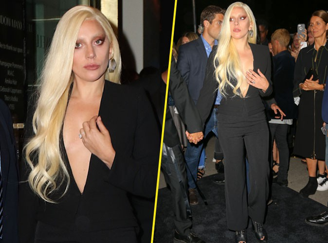 Lady Gaga le 14 septembre 2015