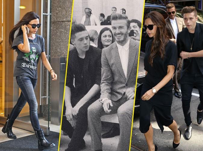 Fashion Week New York : Victoria Beckham peut compter sur les siens !