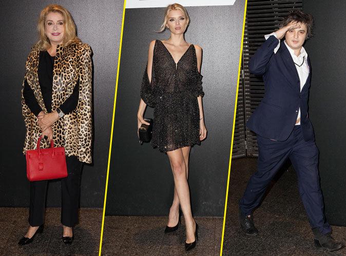 Photos : Fashion Week Paris : Catherine Deneuve, Lily Donaldson, Pete Doherty… tous chez Saint Laurent !