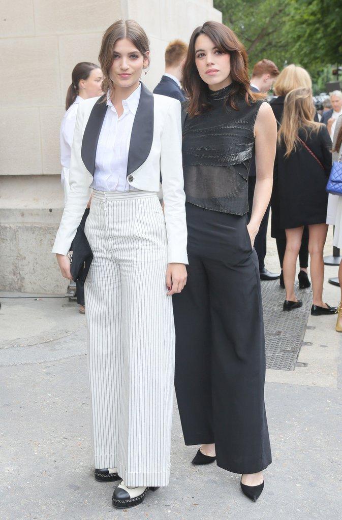 Alma Jodokowsky au défilé haute couture Chanel