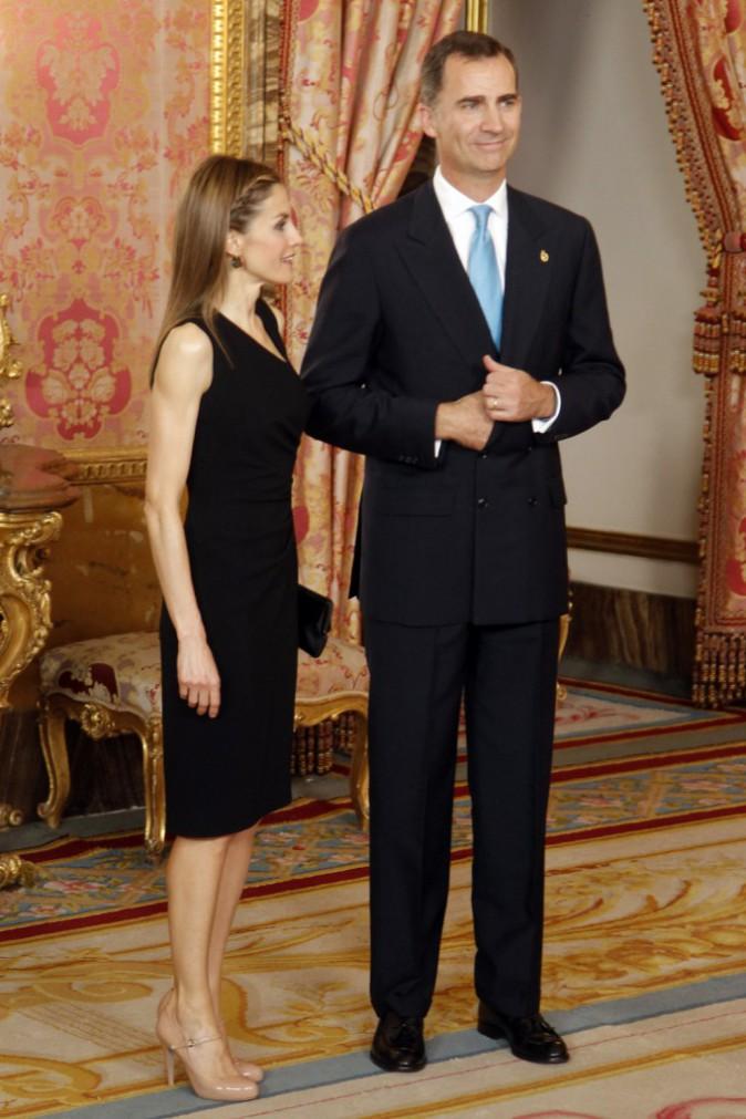 Photos : Felipe et Letizia d'Espagne : un couple toujours ... Felipe Plein