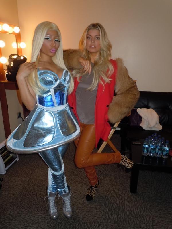A Hollywood quelques heures plus tôt avec Nicki Minaj !