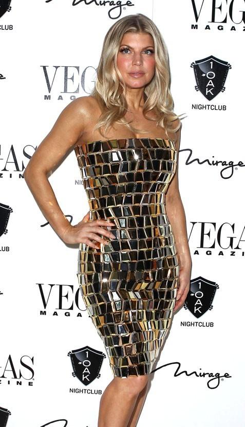 Fergie à Las Vegas samedi !