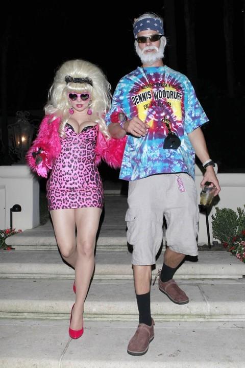 Fergie et Josh Duhamel à Los Angeles le 26 octobre 2012