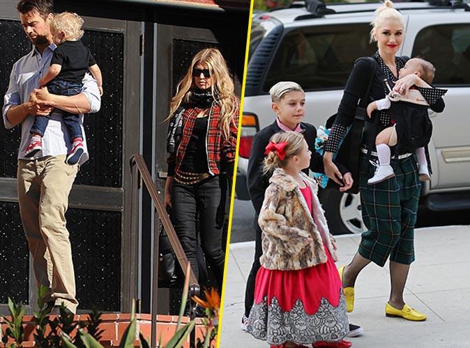 Gwen Stefani et Fergie le 25 décembre 2014