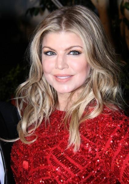 Fergie le 6 décembre 2012 à Los Angeles