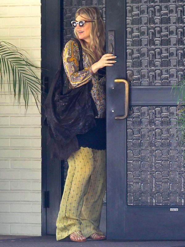 Fergie le 16 juin 2013 à Brentwood