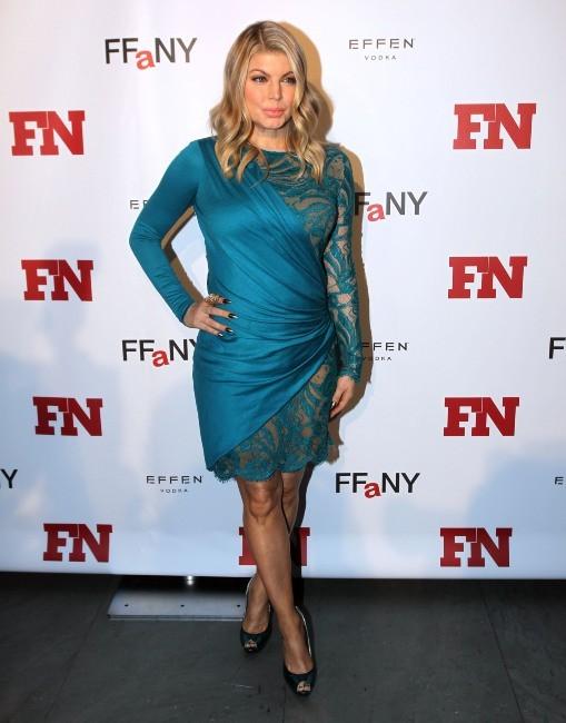 Fergie le 27 novembre 2012 à New York