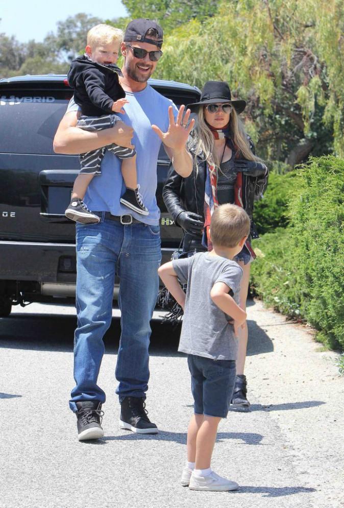 Fergie et Josh Duhamel : avec leur petit Axl, la vie est belle !