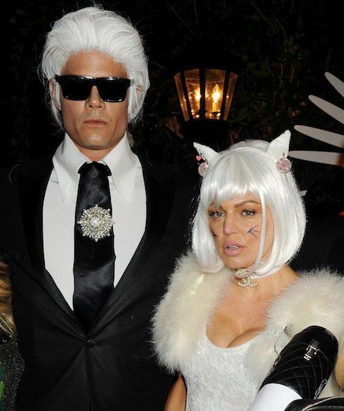 Fergie et Josh Duhamel, Halloween 2015 à Los Angeles
