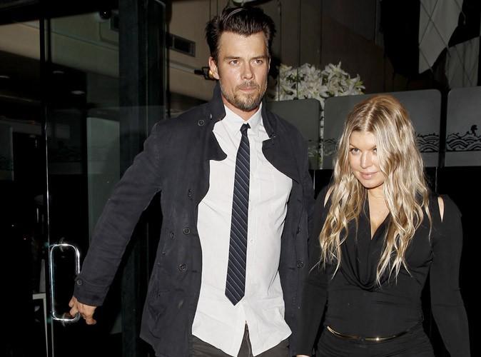 Josh Duhamel et Fergie à Beverly Hills le 10 janvier 2014