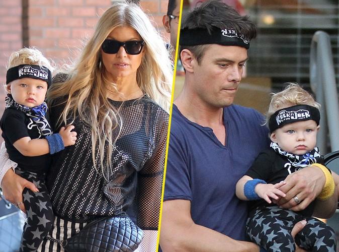 Fergie et Josh Duhamel : premier anniversaire trop stylé pour leur adorable petit Axl !