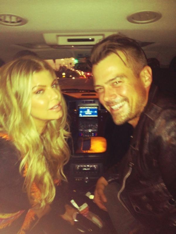 Fergie et Josh en route pour Las Vegas !