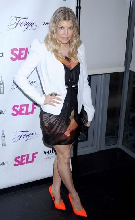 Fergie à la soirée Self Magazine le 5 juin 2012