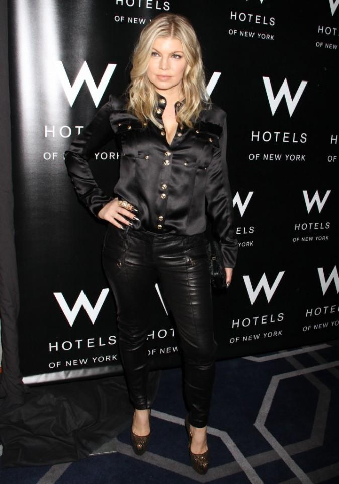 Fergie au W LOVE Hangover Ball de New-York le 28 novembre 2012
