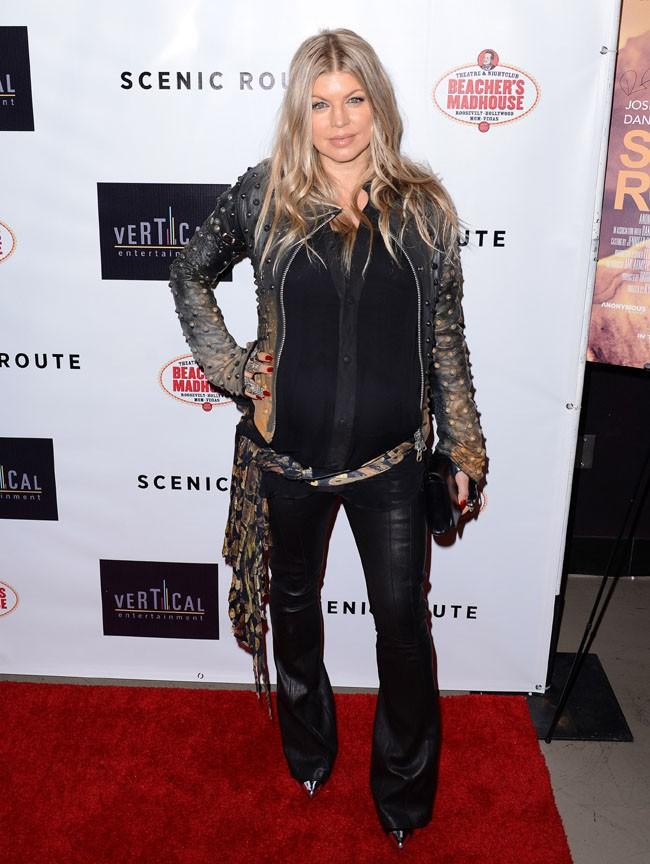Fergie à l'avant-première de Scenic Route à Hollywood le 20 août 2013