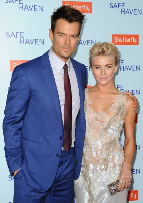 Josh Duhamel et Julianne Hough le 5 février 2013 à Los Angeles