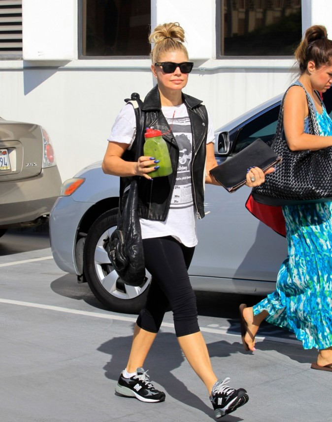Fergie, Beverly Hills, 9 août 2012