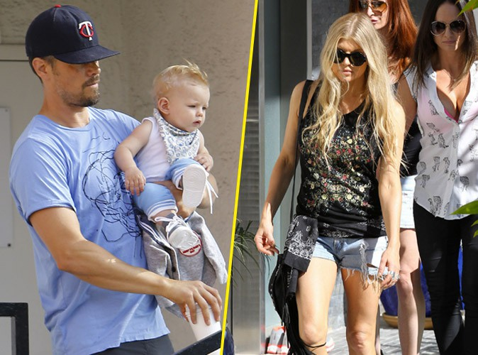 photos fergie sortie entre amies pendant que josh duhamel joue les papas poules avec axl. Black Bedroom Furniture Sets. Home Design Ideas