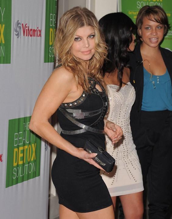 """Fergie lors de la soirée de lancement du livre """"The Beauty Detox Solution"""" à Los Angeles, le 13 avril 2011."""