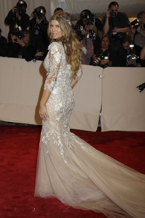 Fergie au MET Ball, le 2 mai 2011 à New York.