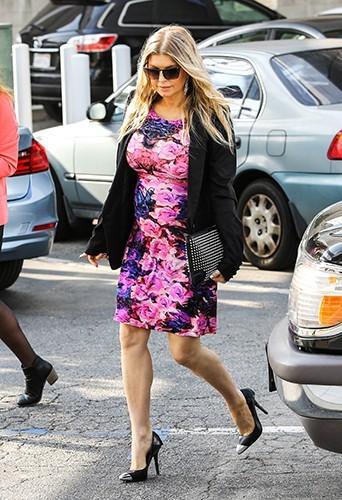 Fergie à Santa Monica le 9 mai 2013