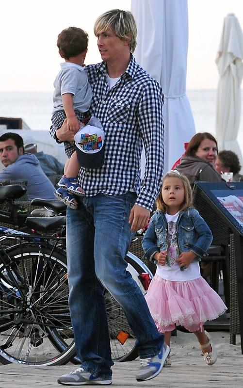 Fernando Torres en famille !