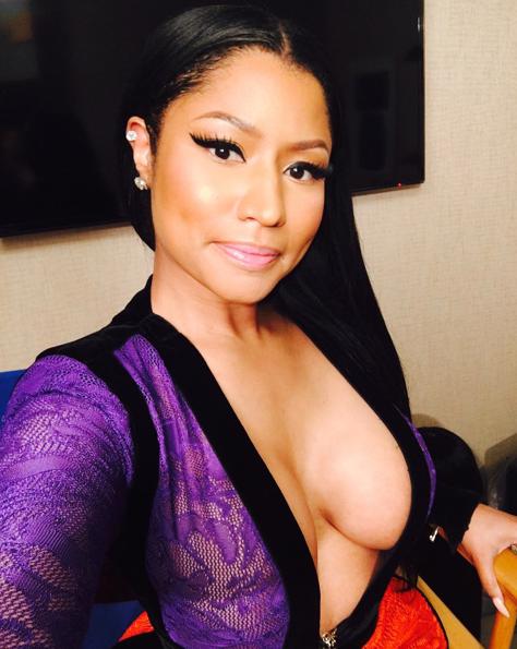 Nicki Minaj le 10 octobre 2015