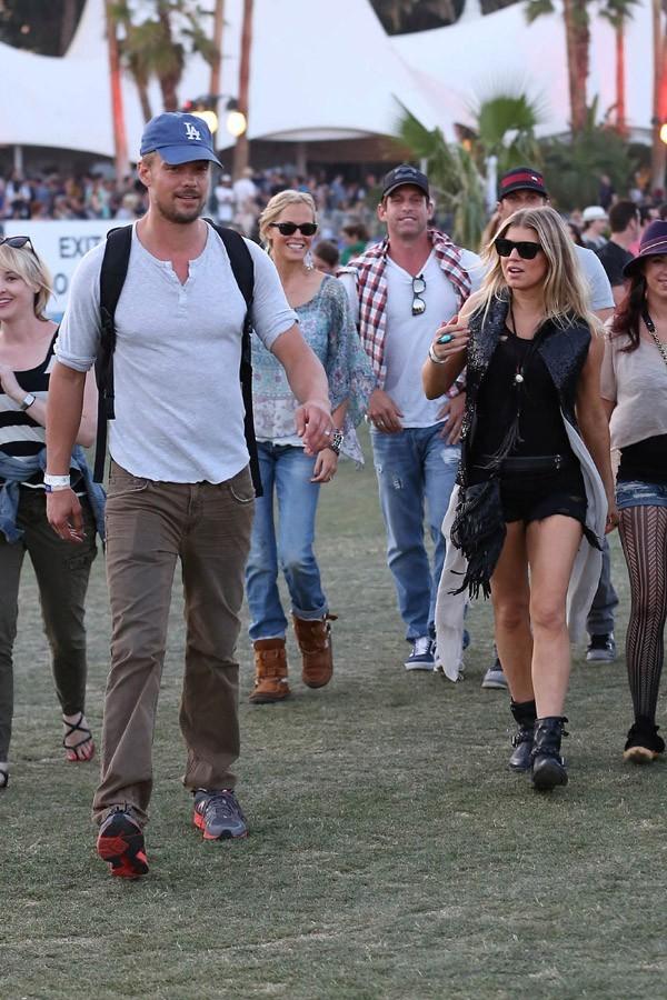 Josh Duhamel et Fergie de retour à Coachella !