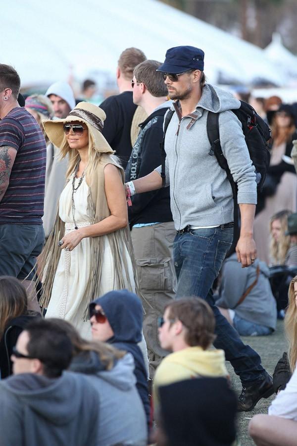 Fergie et Josh Duhamel au Festival de Coachella !