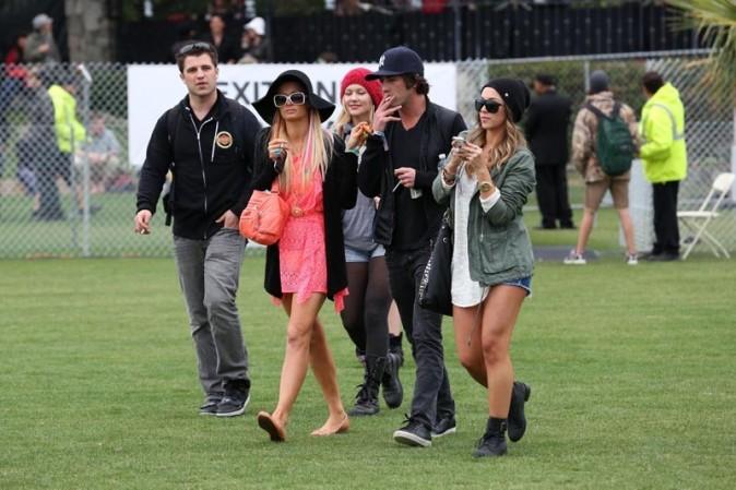 Paris Hilton et ses copains au Festival de Coachella !