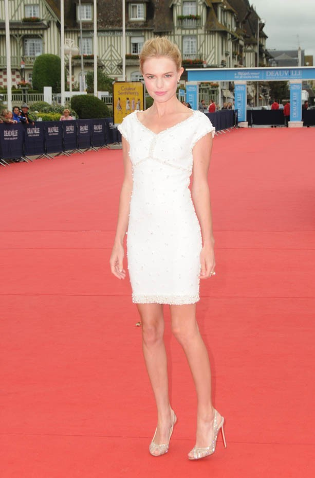 "Kate Bosworth lors de la première de son nouveau film ""Another Happy Day"" à Deauville, le 4 septembre 2011."