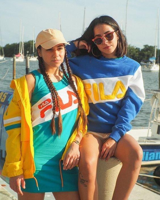 Photos : Fila, Champion, Kappa... Les marques des années 90 reviennent à la mode !