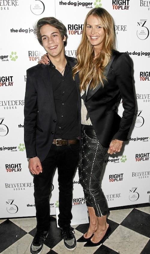 Arpad Flynn & Elle Macpherson