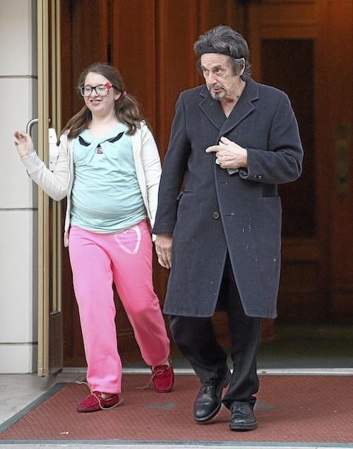 Olivia Rose & Al Pacino
