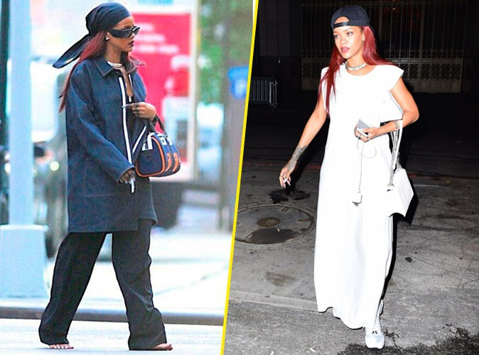 fini de jouer les sauvageonnes, Rihanna se rechausse !