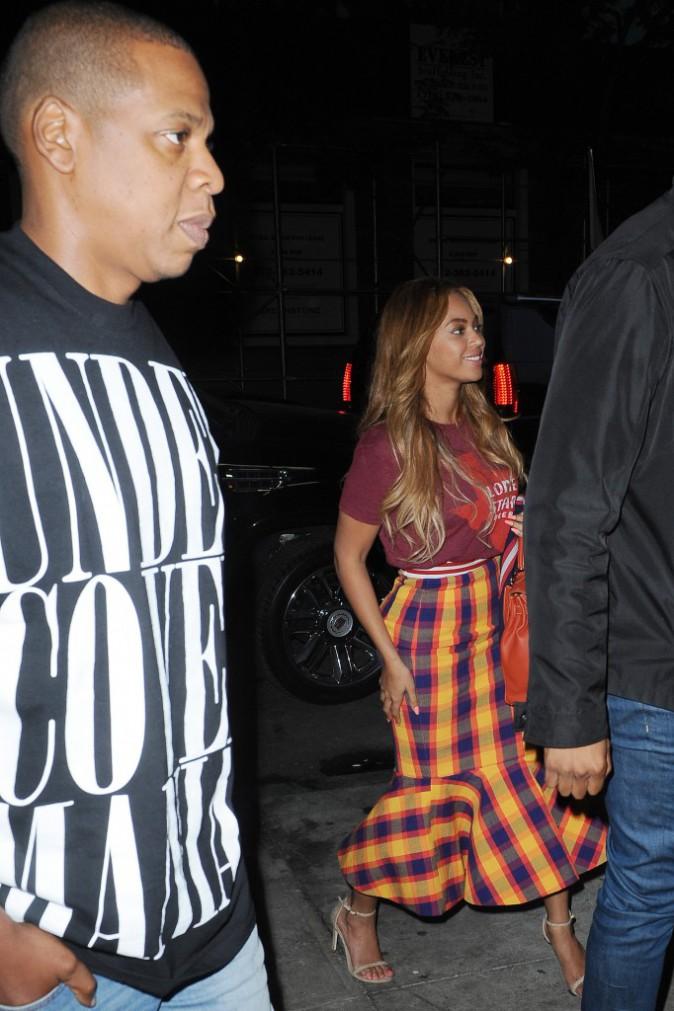 Beyoncé et Jay-Z le 19 mai 2015
