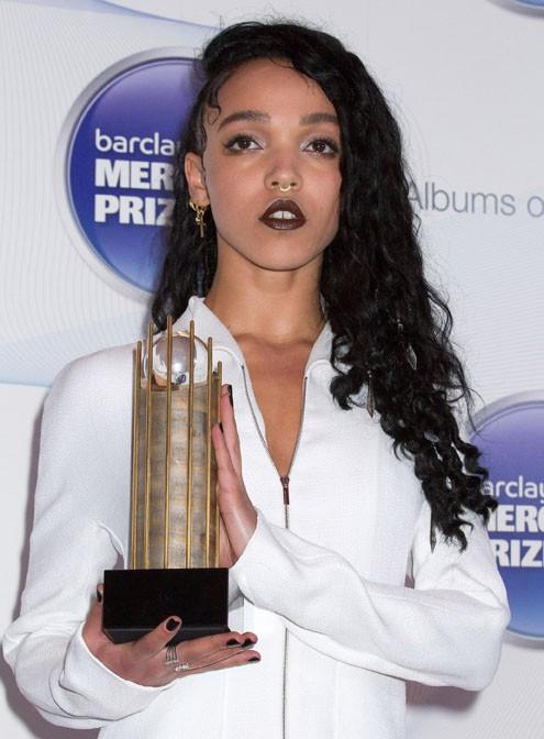 FKA Twigs à la remise du prix Mercury à Londres le 29 octobre 2014