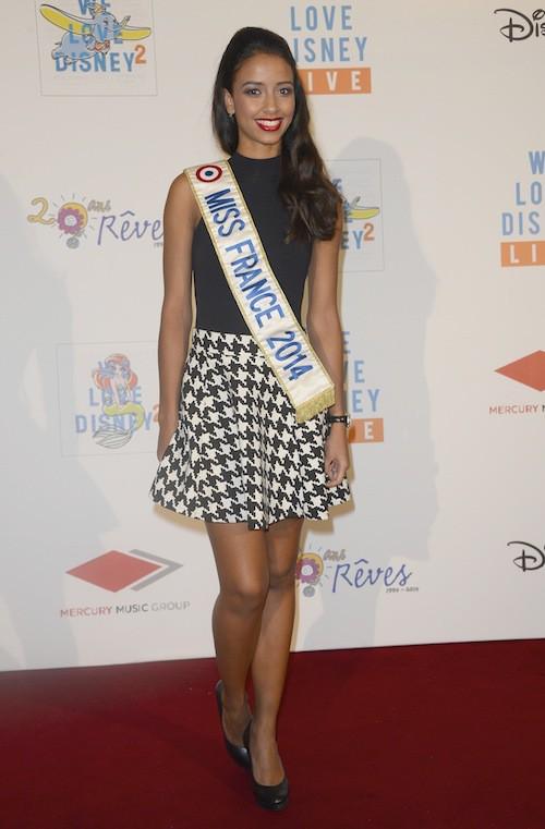 Flora Coquerel au concert We Love Disney à Paris, le 3 novembre 2014