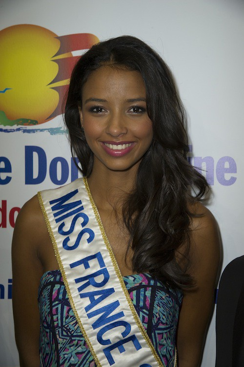Photos : Flora Coquerel : Miss France 2014 rayonne pour la République dominicaine !