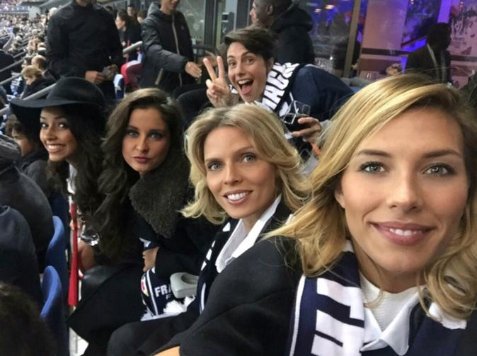 Photos : Flora Coquerel, Sylvie Tellier, Malika Ménard… Les miss radieuses pour soutenir les Bleus malgré la terreur !
