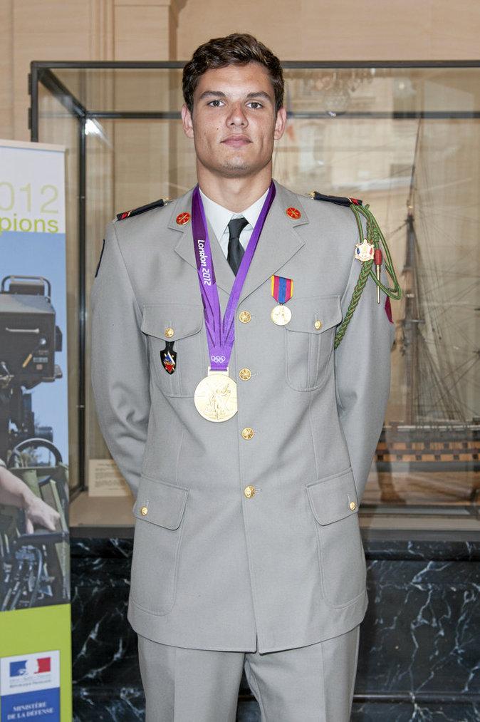 Florent Manaudou dans l'armée