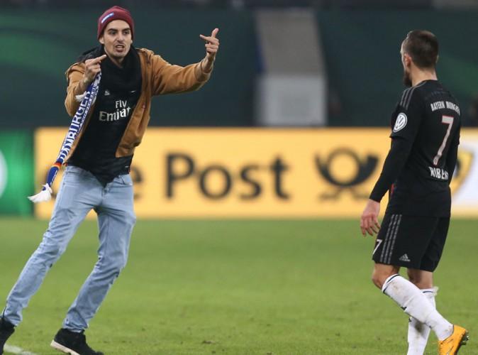 Franck Ribéry : agressé en plein match par un supporter !