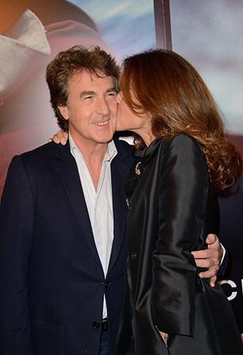 François Cluzet et sa femme à Paris le 4 novembre 2013