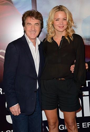 François Cluzet et Virginie Efira à Paris le 4 novembre 2013
